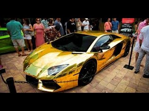 Secret Lives of the Super Rich - Gold Lamborghini & Private Jets
